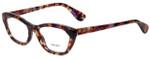 Prada Designer Eyeglasses VPR03Q-PDN1O1 in Spotted Havana 52mm :: Rx Single Vision