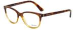 Prada Designer Eyeglasses VPR14R-TKU1O1 in Tortoise Gradient 52mm :: Progressive