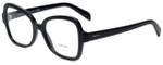 Prada Designer Eyeglasses VPR25S-1AB1O1 in Black 51mm :: Progressive