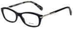 Prada Designer Eyeglasses VPR04P-1AB1O1 in Black 52mm :: Rx Bi-Focal