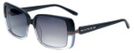 Azzaro Designer Sunglasses AZ4382-C3 in Slate Crystal Gradient 56mm
