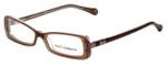 Dolce & Gabbana Designer Eyeglasses DG1227-1981-51 in Brown 51mm :: Custom Left & Right Lens