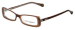Dolce & Gabbana Designer Eyeglasses DG1227-1981-51 in Brown 51mm :: Rx Single Vision