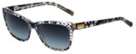 Dolce & Gabbana Designer Sunglasses DG4123-1901/8G in Black Lace 57mm
