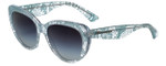 Dolce & Gabbana Designer Sunglasses DG4189-2729/8G in Blue Lace 54mm