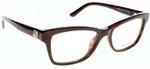 Valentino Designer Eyeglasses V2670R-215 in Dark Havana 52mm :: Rx Single Vision