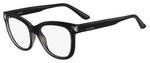 Valentino Designer Eyeglasses V2684-001 in Black 51mm :: Rx Single Vision