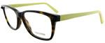 Valentino Designer Eyeglasses V2694-203 in Dark Havana Yellow 53mm :: Rx Single Vision