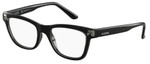 Valentino Designer Eyeglasses V2682-001 in Black 51mm :: Progressive