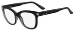 Valentino Designer Eyeglasses V2684-001 in Black 51mm :: Progressive