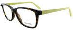 Valentino Designer Eyeglasses V2694-203 in Dark Havana Yellow 53mm :: Progressive