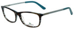 Lacoste Designer Eyeglasses L2711-215 in Azure Havana 52mm :: Custom Left & Right Lens