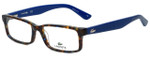 Lacoste Designer Eyeglasses L2685-215 in Blue Havana 53mm :: Progressive