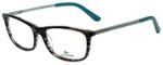 Lacoste Designer Eyeglasses L2711-215 in Azure Havana 52mm :: Progressive