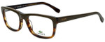 Lacoste Designer Eyeglasses L2740-318 in Military Green 53mm :: Progressive