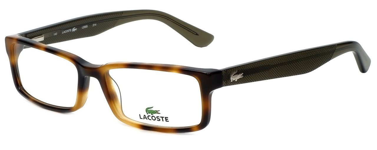 5b43bc1e4e Lacoste Designer Reading Glasses L2685-214 in Havana 53mm - Designer ...