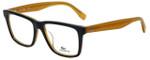 Lacoste Designer Reading Glasses L2769-001 in Black Butterscotch 54mm