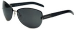 Escada Designer Sunglasses SES505-579 in Black 61mm