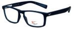 Nike Designer Eyeglasses Nike-4258-034 in Obsidian 53mm :: Custom Left & Right Lens