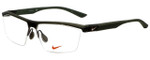 Nike Designer Eyeglasses Nike-7076-220 in Mt Cry Cargo Khaki 57mm :: Rx Single Vision