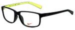 Nike Designer Eyeglasses Nike-7095-001 in Matte Black 54mm :: Rx Single Vision