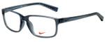 Nike Designer Eyeglasses Nike-7095-068 in Anthracite Gunmetal 54mm :: Rx Single Vision