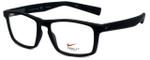 Nike Designer Eyeglasses 4258-004 in Black Bomber Grey 53mm :: Rx Bi-Focal