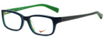 Nike Designer Eyeglasses 5513-325 in Dark Sea Mineral Teal 49mm :: Rx Bi-Focal