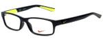 Nike Designer Eyeglasses 5534-015 in Black Volt 48mm :: Rx Bi-Focal