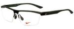 Nike Designer Eyeglasses 7076-220 in Mt Cry Cargo Khaki 57mm :: Rx Bi-Focal