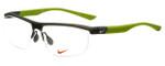 Nike Designer Eyeglasses 7077-229 in Green 58mm :: Rx Bi-Focal