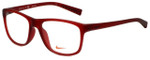 Nike Designer Eyeglasses 7097-611 in Matte Team Red 54mm :: Rx Bi-Focal