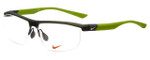 Nike Designer Reading Glasses 7077-229 in Green 58mm