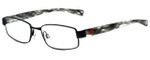 Nike Designer Reading Glasses Nike-5571-020 in Satin Black 48mm