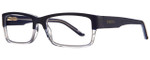 Smith Optics Designer Eyeglasses Rhodes in Blue Crystal 56mm :: Custom Left & Right Lens