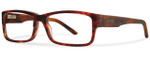 Smith Optics Designer Eyeglasses Rhodes in Dark Havana 54mm :: Custom Left & Right Lens