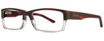 Smith Optics Designer Eyeglasses Rhodes in Matte Havana Crystal 54mm :: Custom Left & Right Lens