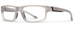 Smith Optics Designer Eyeglasses Vagabond in Matte Smoke 55mm :: Custom Left & Right Lens