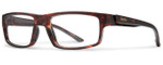 Smith Optics Designer Eyeglasses Vagabond in Matte Vintage Havana 55mm :: Custom Left & Right Lens