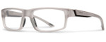 Smith Optics Designer Eyeglasses Vagabond in Matte Smoke 55mm :: Rx Single Vision