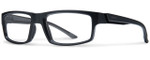 Smith Optics Designer Eyeglasses Vagabond in Matte Black 55mm :: Rx Bi-Focal