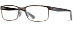 Smith Optics Designer Eyeglasses Sinclair in Bronze Havana 57mm :: Rx Bi-Focal