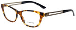 Versace Designer Eyeglasses 3220-5119-52 in Havana 52mm :: Custom Left & Right Lens