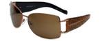 Charriol Designer Sunglasses in Copper Frame & Brown Lens (PC8034-C4)