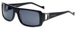 Charriol Designer Sunglasses in Black Frame & Grey Lens (PC8059-C1)