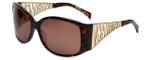 Charriol Designer Sunglasses in Tortoise Frame & Amber Lens (PC8072-C2)