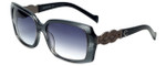 Charriol Designer Sunglasses in Smoke Frame & Purple Gradient Lens (PC8076-C3)