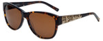 Charriol Designer Sunglasses in Tortoise Frame & Brown Lens (PC8087-C2)