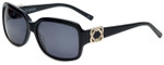 Charriol Designer Sunglasses in Black Frame & Grey Lens (PC8091-C1)