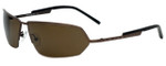 Charriol Designer Sunglasses in Brown Frame & Amber Lens (PC8036-C3)